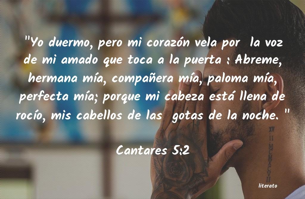 La Biblia Cantares 52