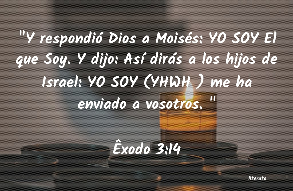 La Biblia - Êxodo - 3:14
