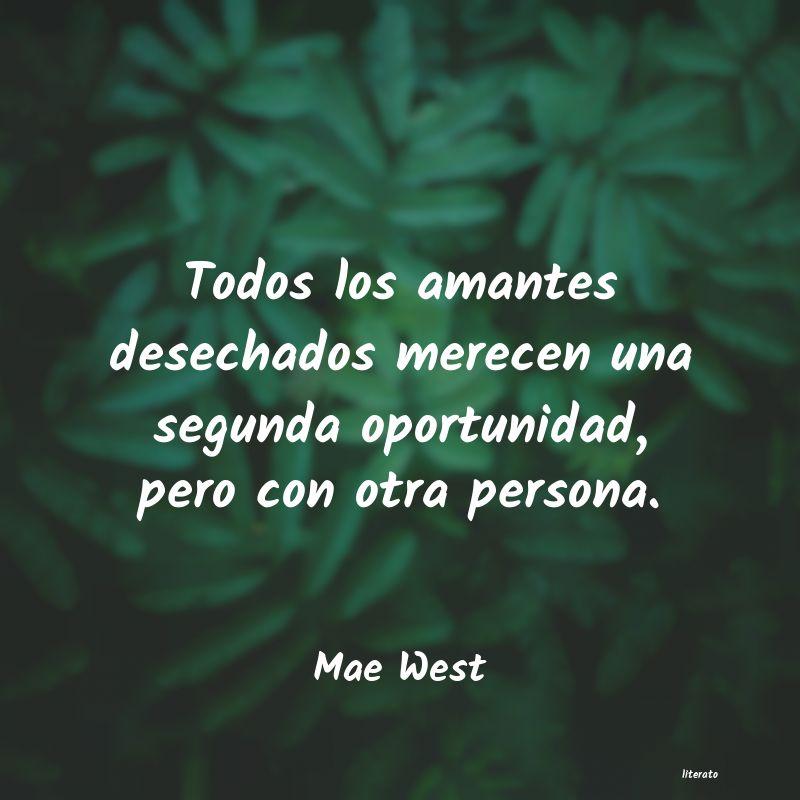 Mae West Todos Los Amantes Desechados M