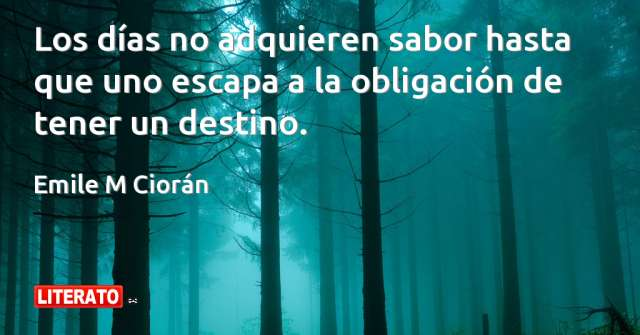 Frases de Emile M Ciorán