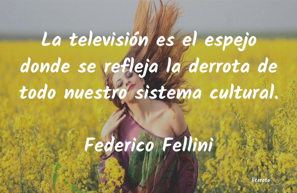 Federico Fellini La Televisión Es El Espejo Do