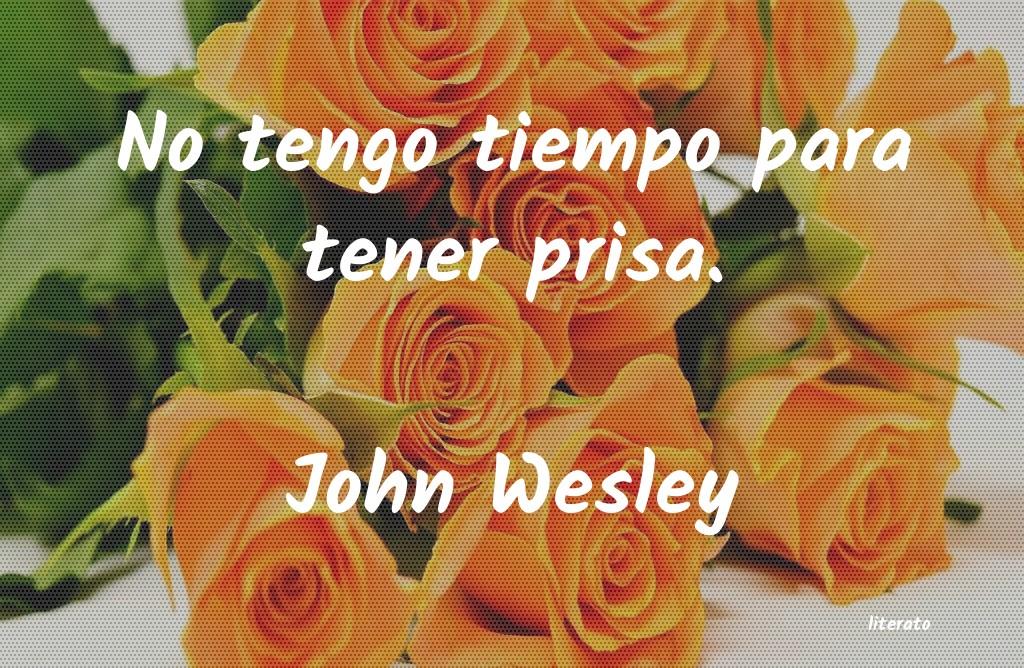 John Wesley No Tengo Tiempo Para Tener Pri