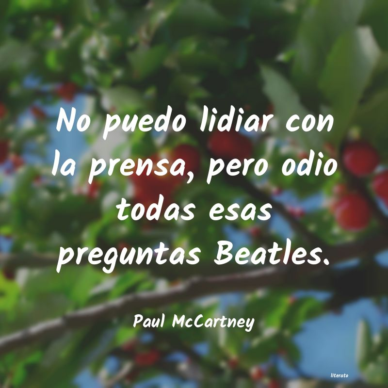 Frases de Paul McCartney
