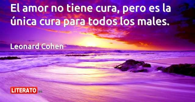Frases de Leonard Cohen