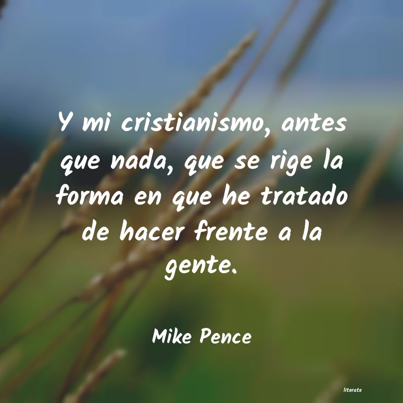 Frases de Mike Pence