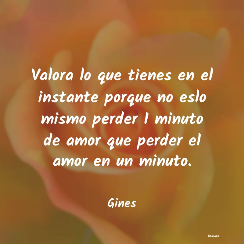 Frases de Gines