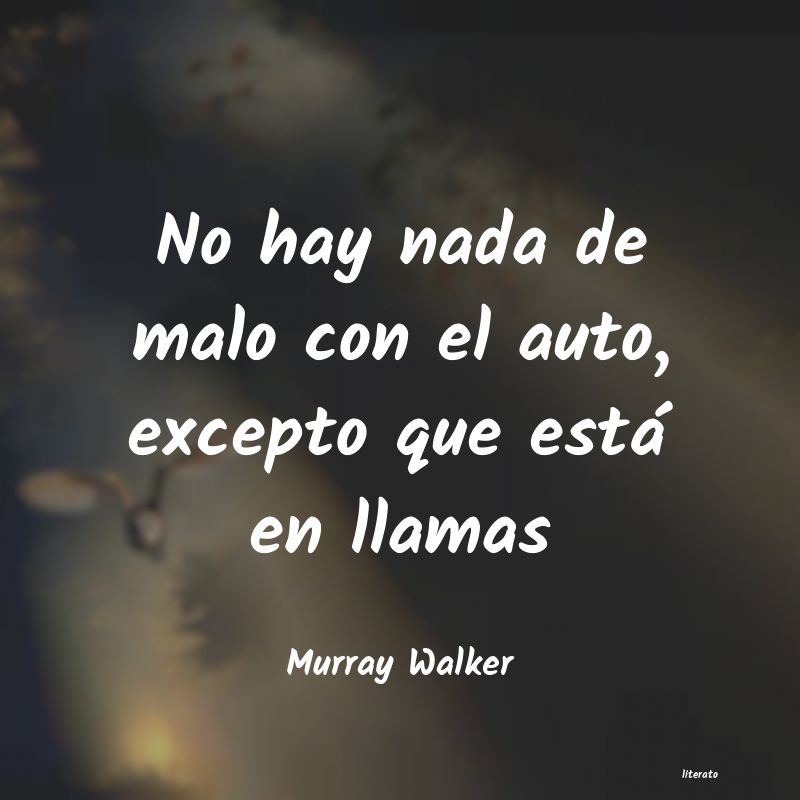 Frases de Murray Walker