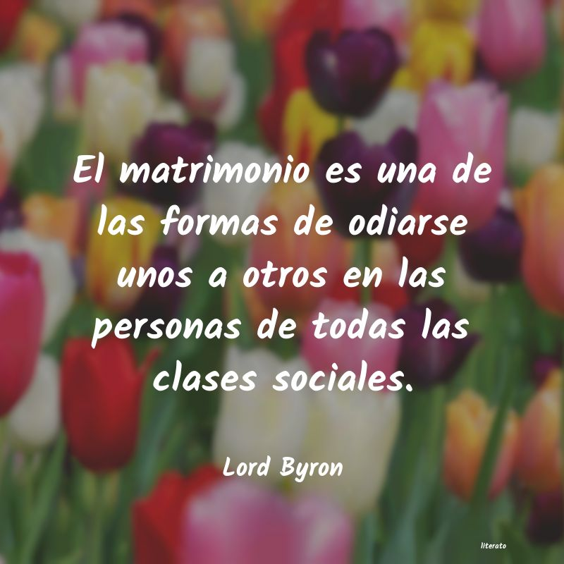 Frases de Lord Byron