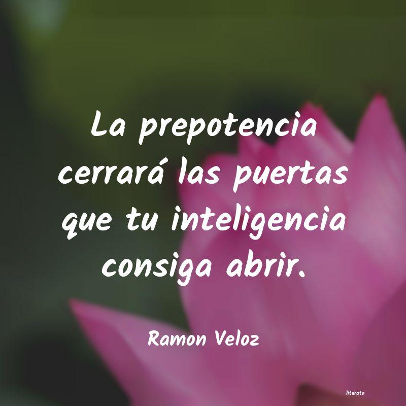 Ramon Veloz La Prepotencia Cerrará Las Pu
