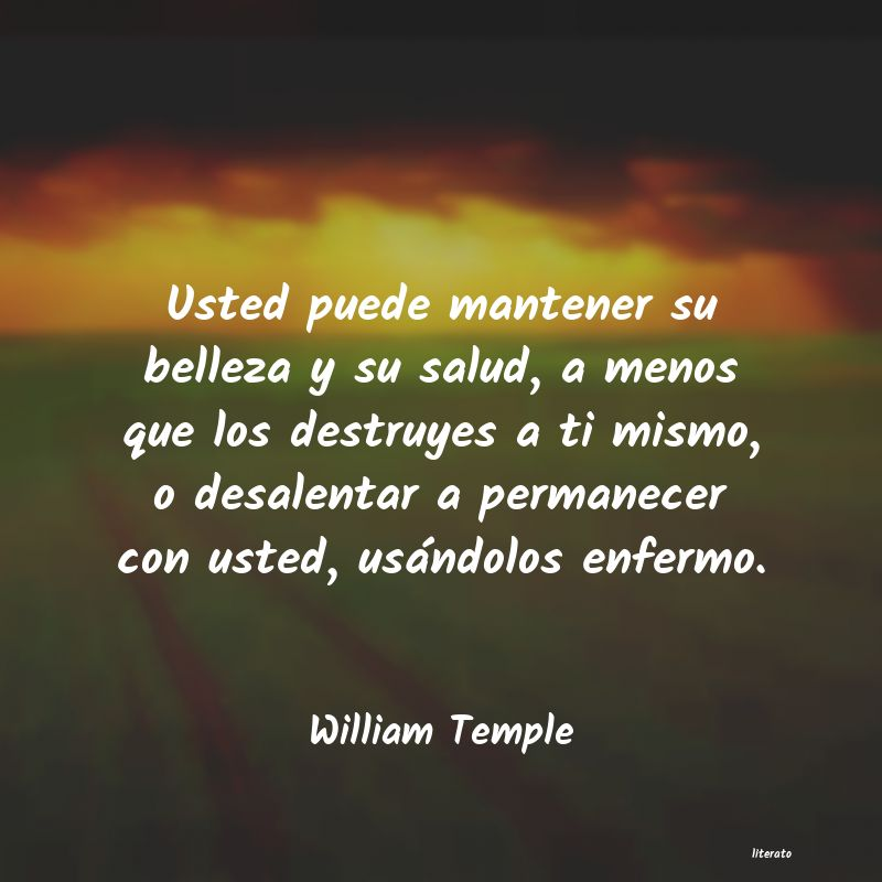 Frases de William Temple