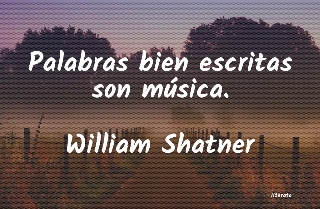 Frases de William Shatner