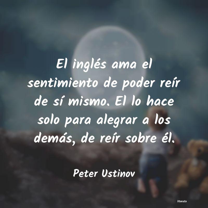 Peter Ustinov El Inglés Ama El Sentimiento