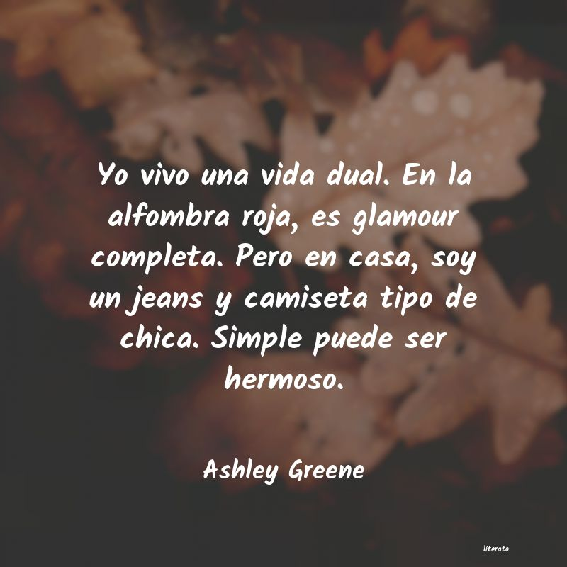 Frases de Ashley Greene