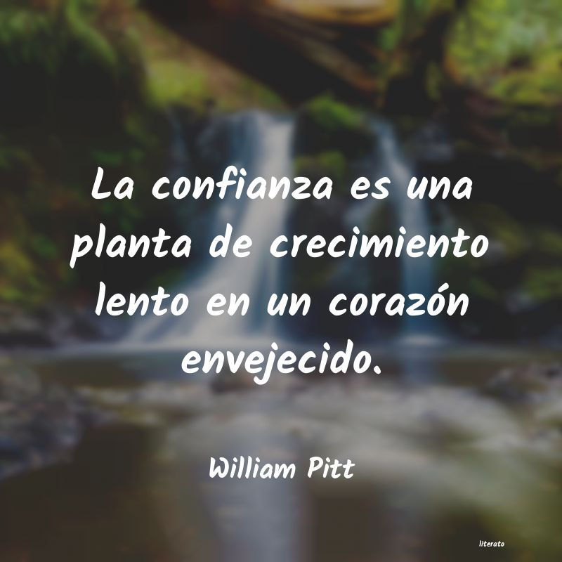 Frases de William Pitt