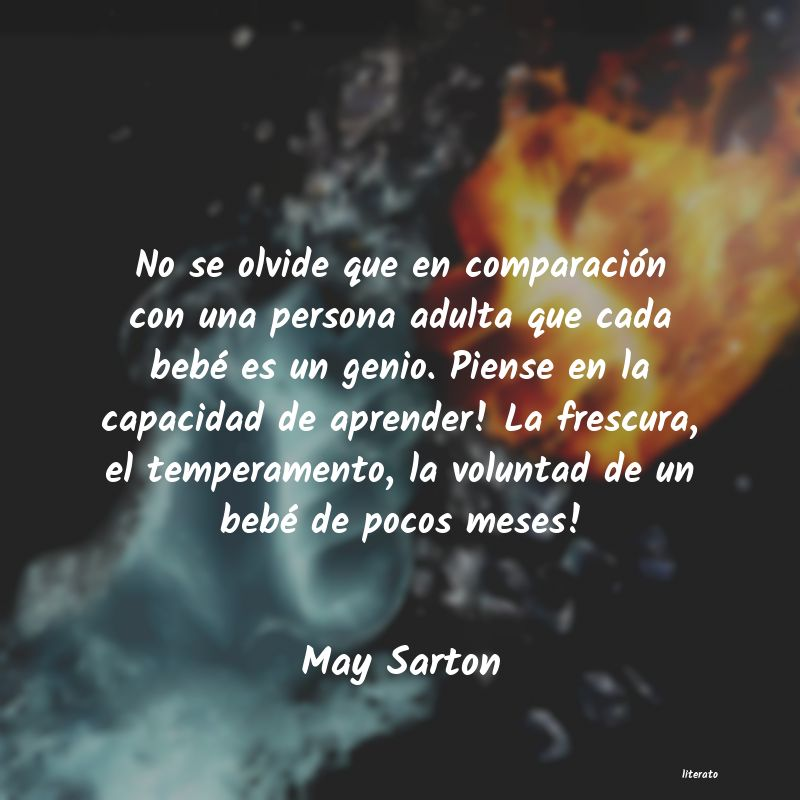 Frases de May Sarton