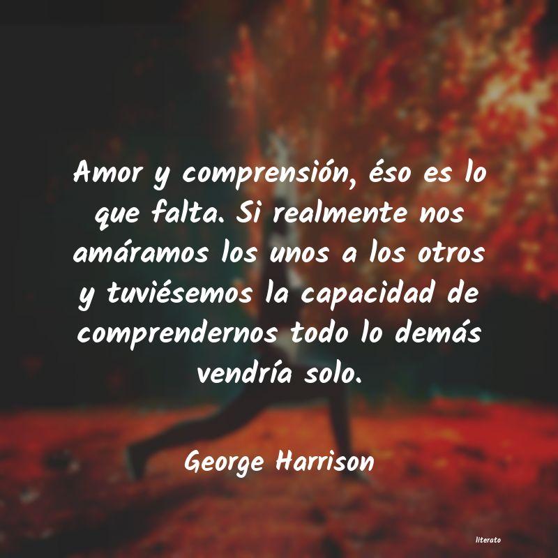 George Harrison Amor Y Comprensión éso Es L