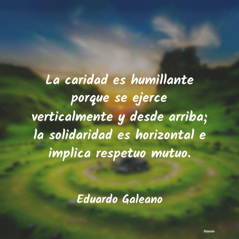 Frases Cortas Solidaridad Literato