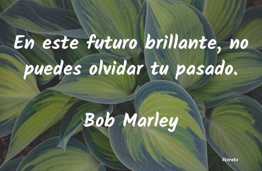 Bob Marley En Este Futuro Brillante No P