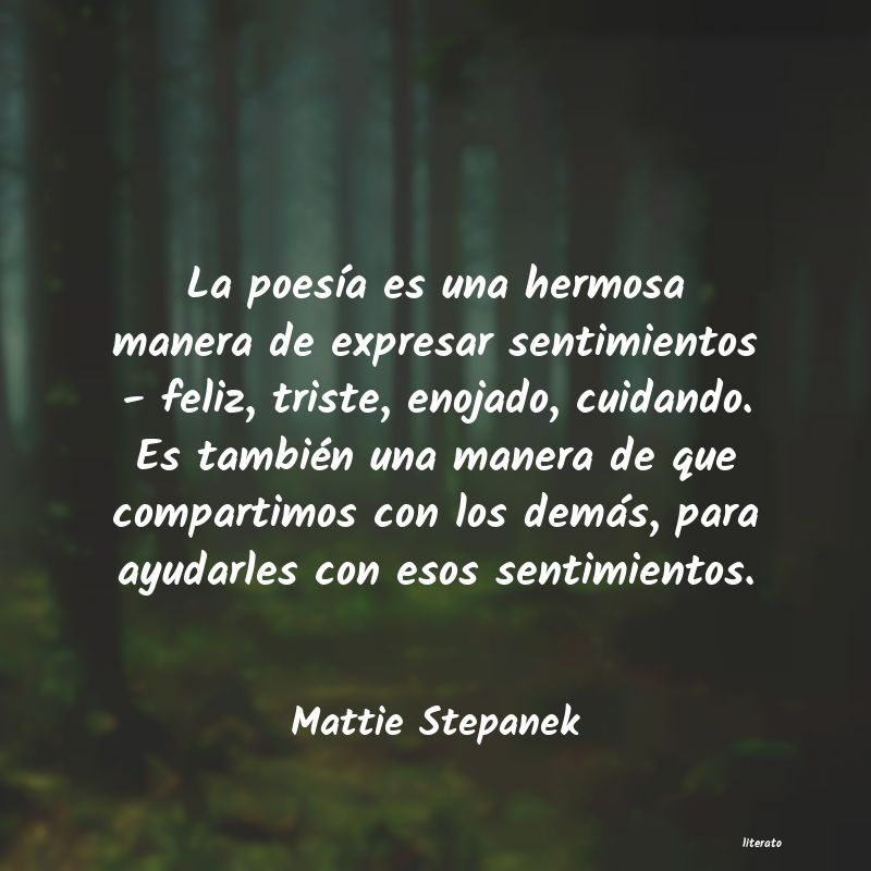 Frases de Mattie Stepanek