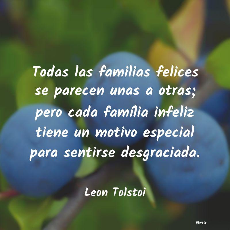 Frases De Familias Felices Literato