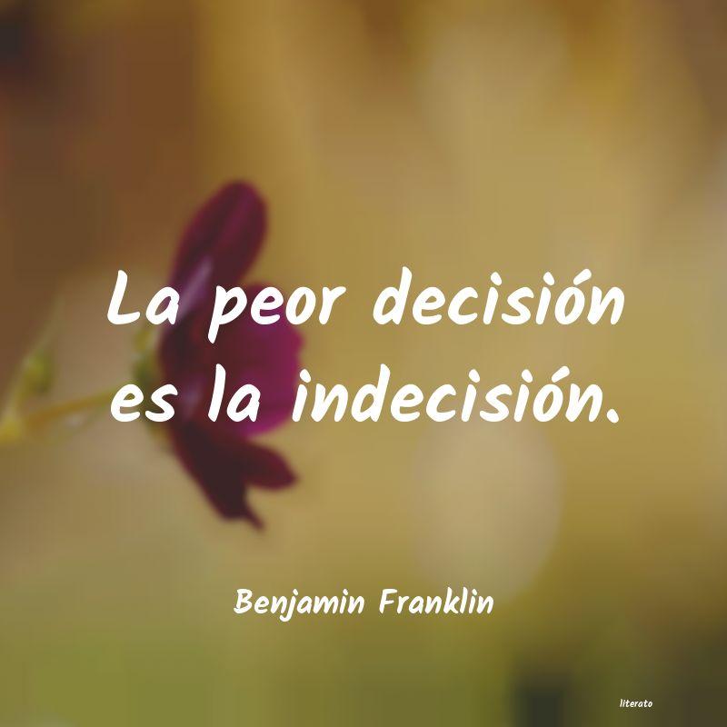Frases Sobre Decisiones Literato