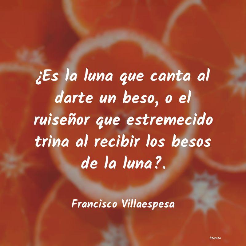 Francisco Villaespesa Es La Luna Que Canta Al Dart