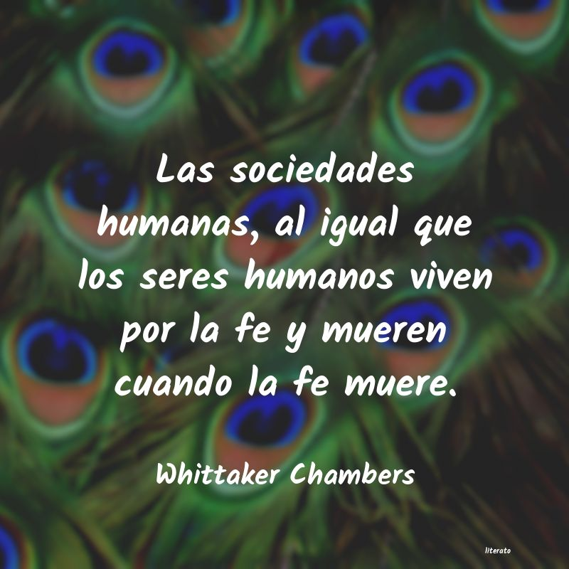Frases de Whittaker Chambers
