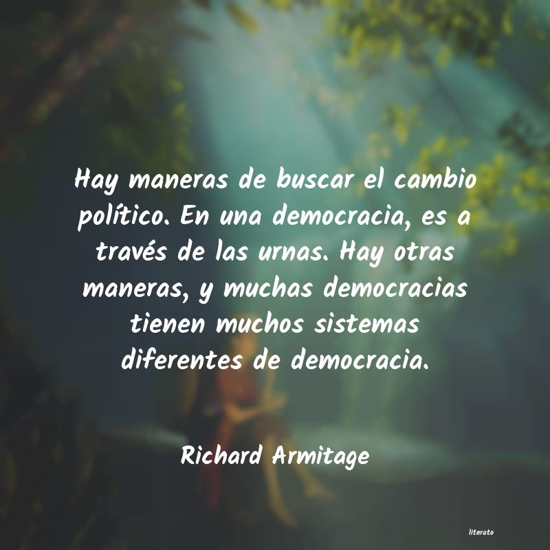 Frases de Richard Armitage