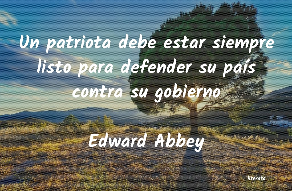 Frases de Edward Abbey