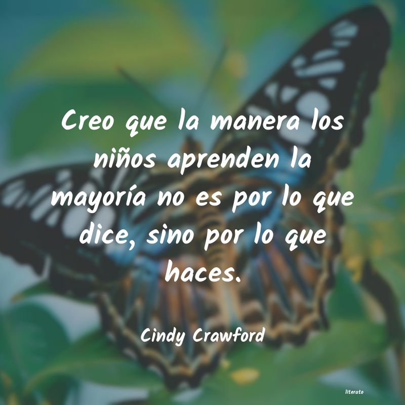 Frases de Cindy Crawford