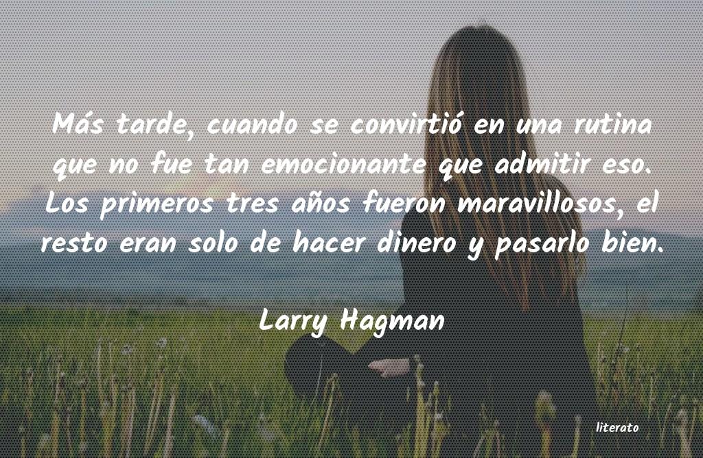 Larry Hagman Más Tarde Cuando Se Convirti
