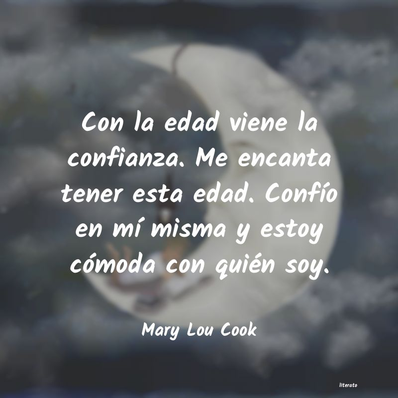 Frases de Mary Lou Cook
