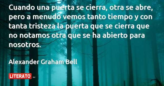 Frases de Alexander Graham Bell