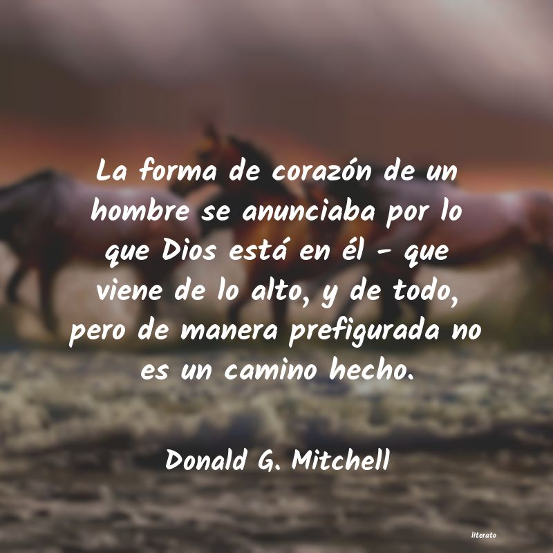 Frases de Donald G. Mitchell