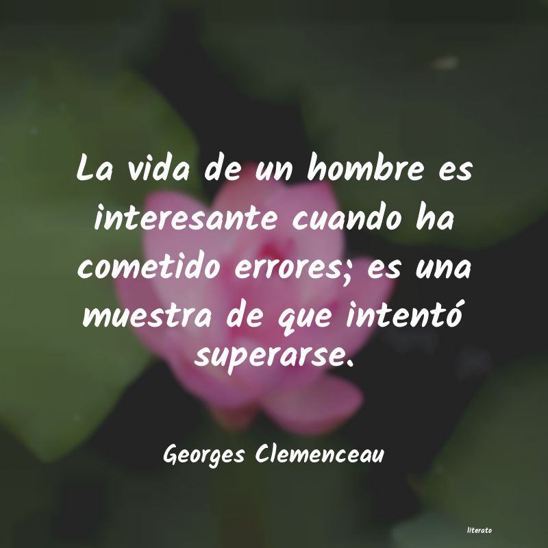 Frases de Georges Clemenceau