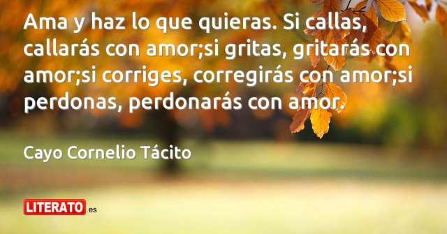 Frases de Cayo Cornelio Tácito