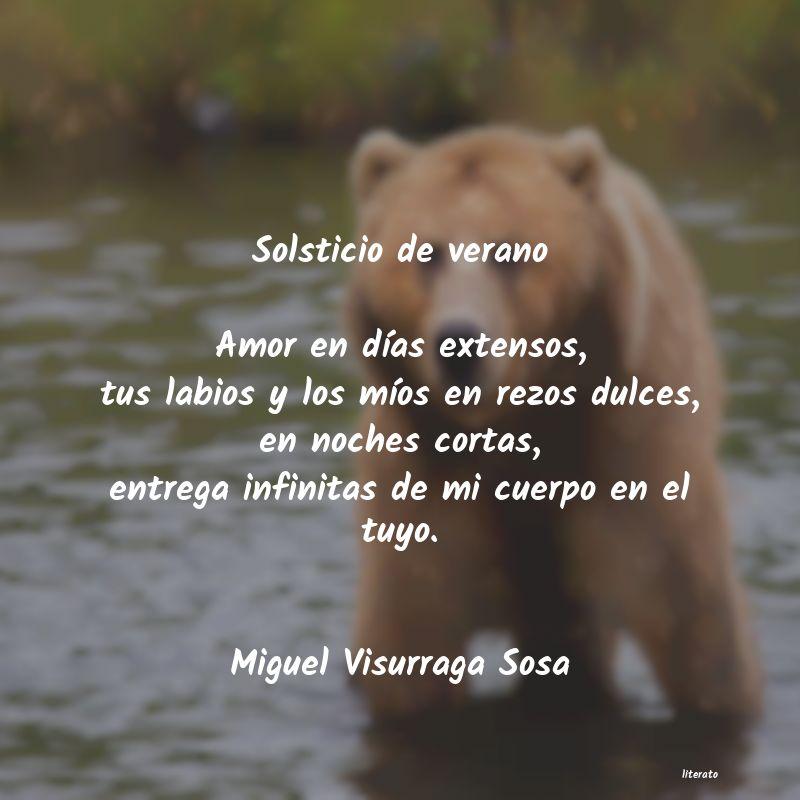 Miguel Visurraga Sosa Solsticio De Verano Amor En D