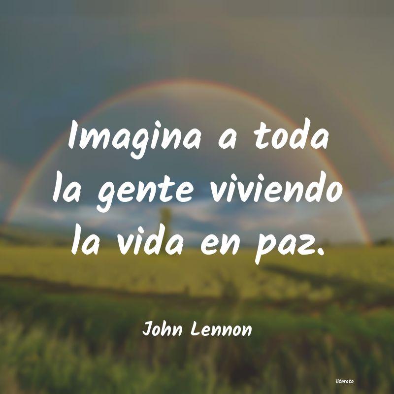John Lennon Imagina A Toda La Gente Vivien