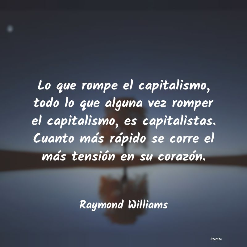 Frases de Raymond Williams