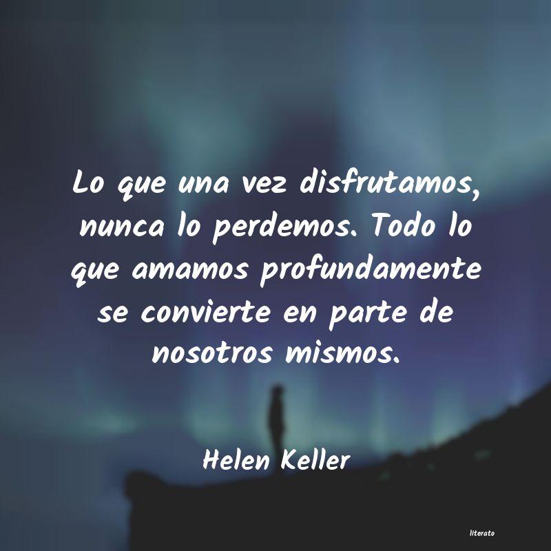 Poemas De Helen Keller Literato
