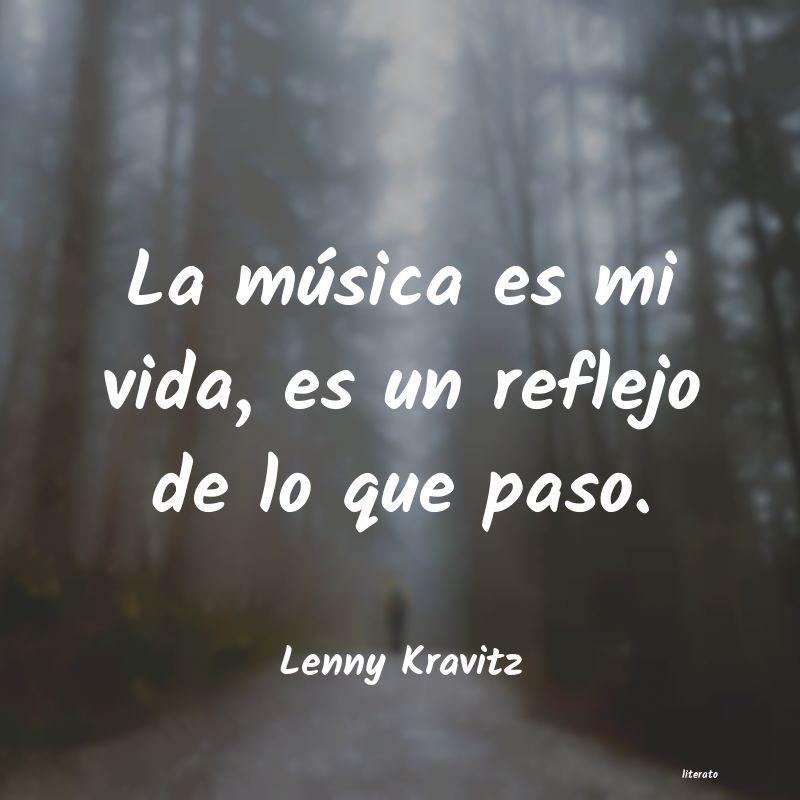 Lenny Kravitz La Música Es Mi Vida Es Un R