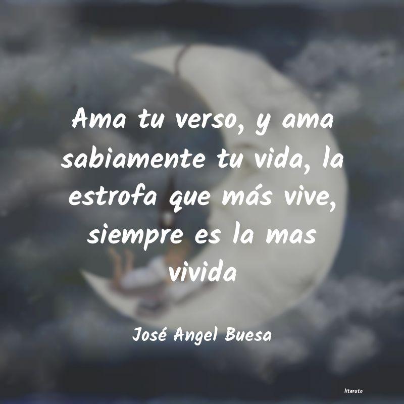 José Angel Buesa Ama Tu Verso Y Ama Sabiamente