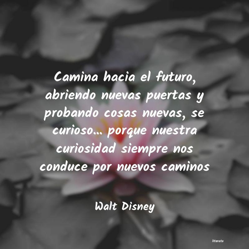 Walt Disney Camina Hacia El Futuro Abrien