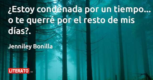 Frases de Jenniley Bonilla
