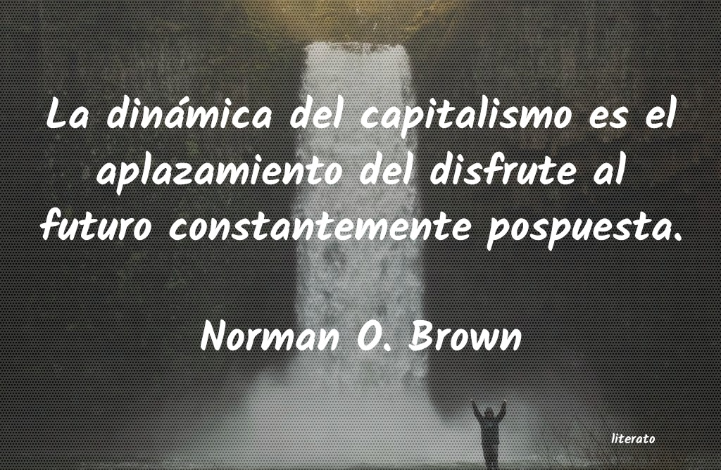Frases de Norman O. Brown