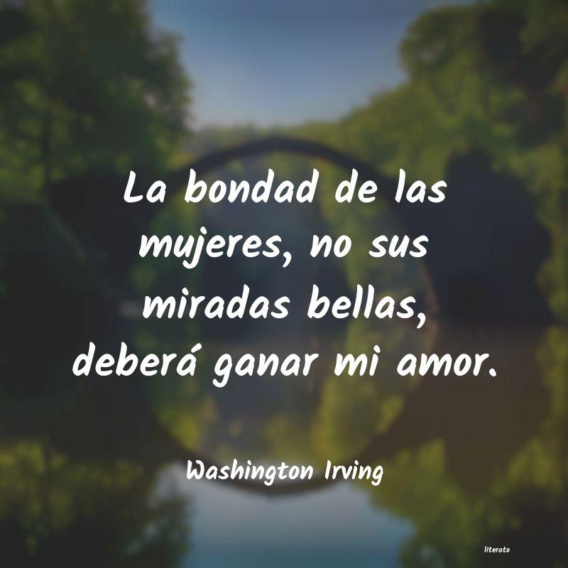 Washington Irving La Bondad De Las Mujeres No S