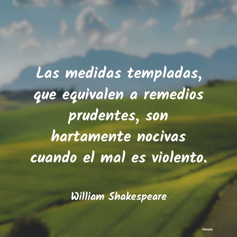 Frases de William Shakespeare