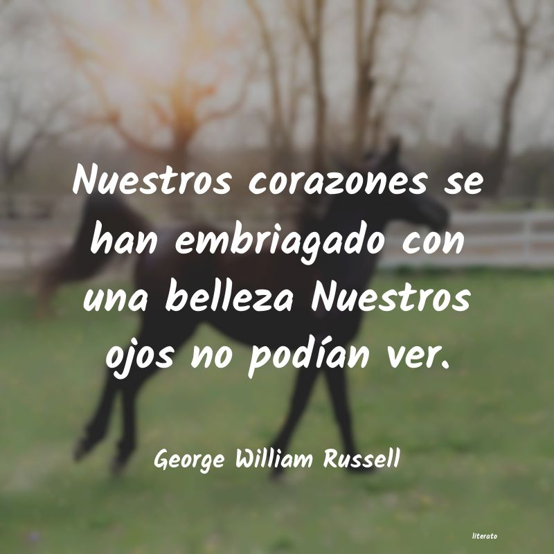 Frases de George William Russell