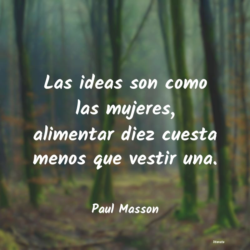 Frases de Paul Masson