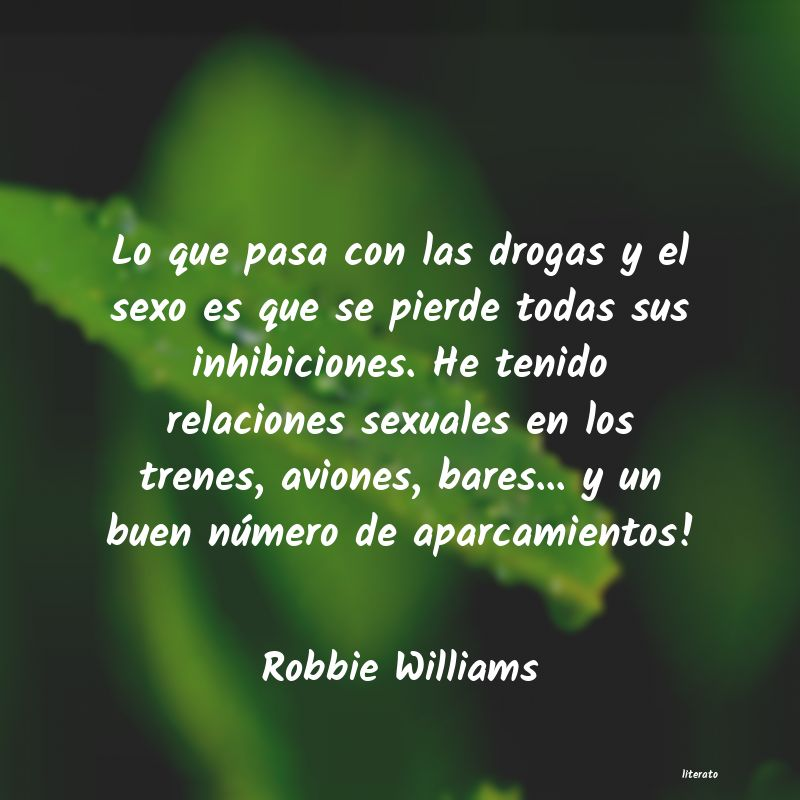 Frases de Robbie Williams